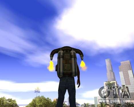 Realistic sky (Sky Mod) for GTA San Andreas second screenshot