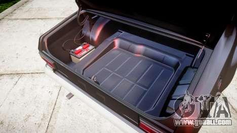 Ford Escort Mk1 for GTA 4 inner view