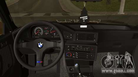 BMW M5 E28 for GTA San Andreas back left view