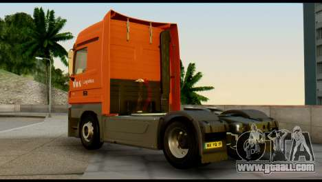 Mercedes-Benz Actros PJ1 for GTA San Andreas left view