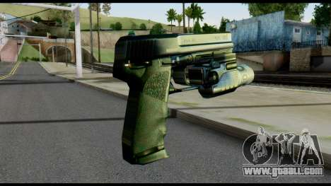 USP from Metal Gear Solid for GTA San Andreas second screenshot
