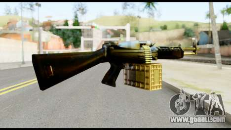 M63 from Metal Gear Solid for GTA San Andreas second screenshot