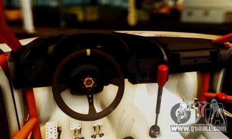 BMW M3 E36 Darnitsa Bandits for GTA San Andreas inner view