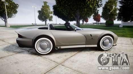 Bravado Banshee Little Wheel for GTA 4 left view