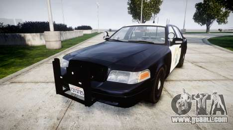 Ford Crown Victoria Highway Patrol [ELS] Slickto for GTA 4