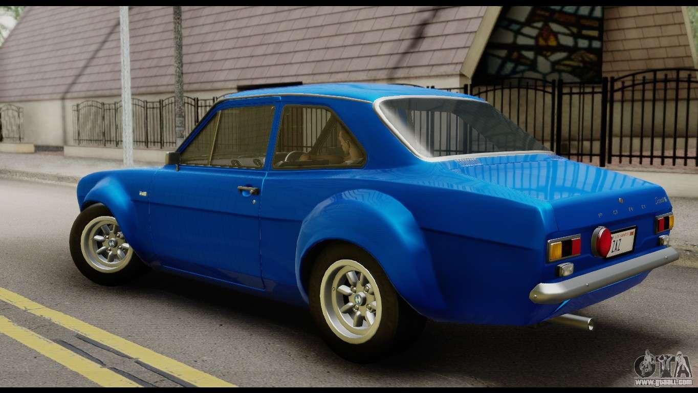 Ford Escort Mark 1 1970 for GTA San Andreas