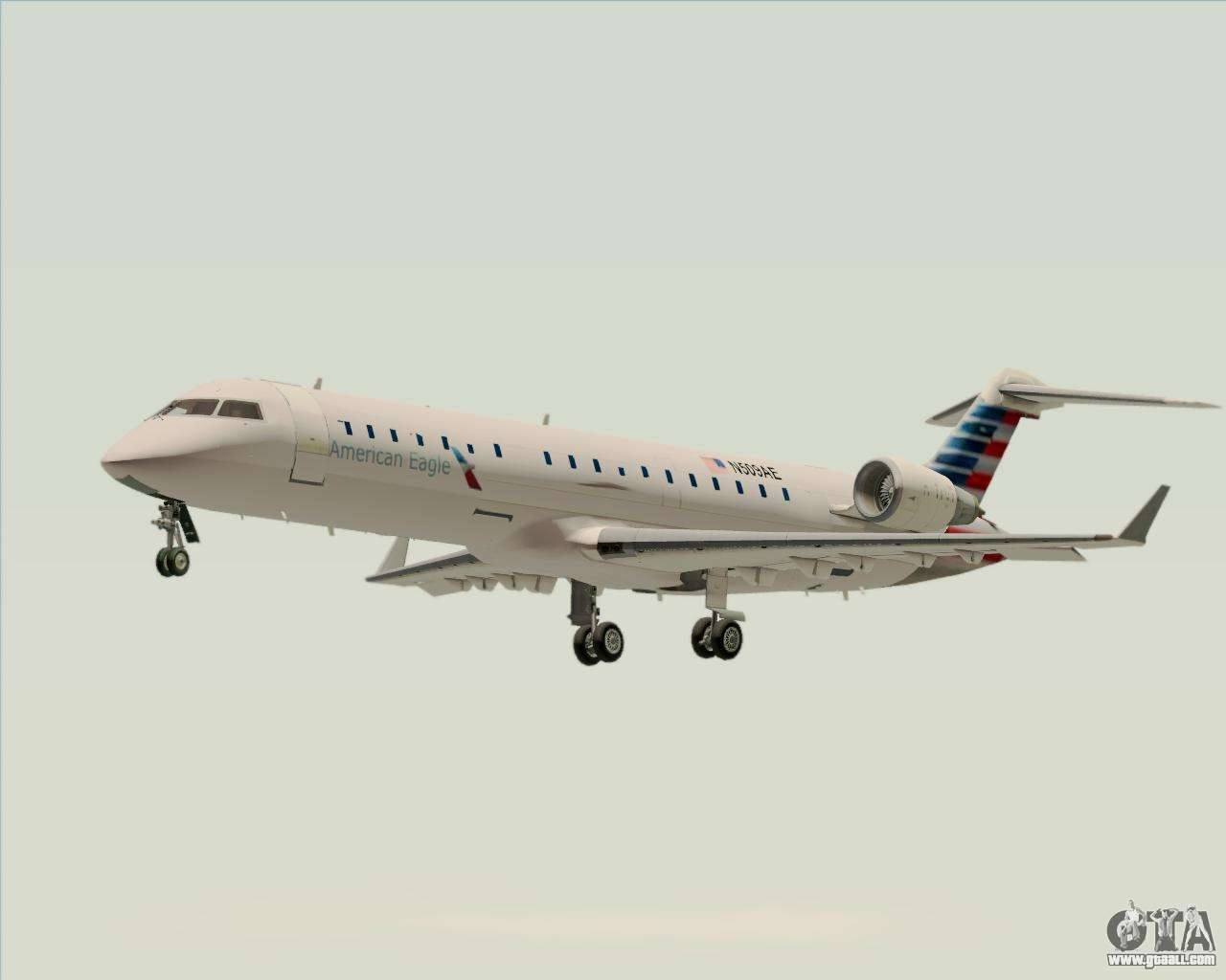 Bombardier CRJ700 American Eagle Airlines for GTA San Andreas