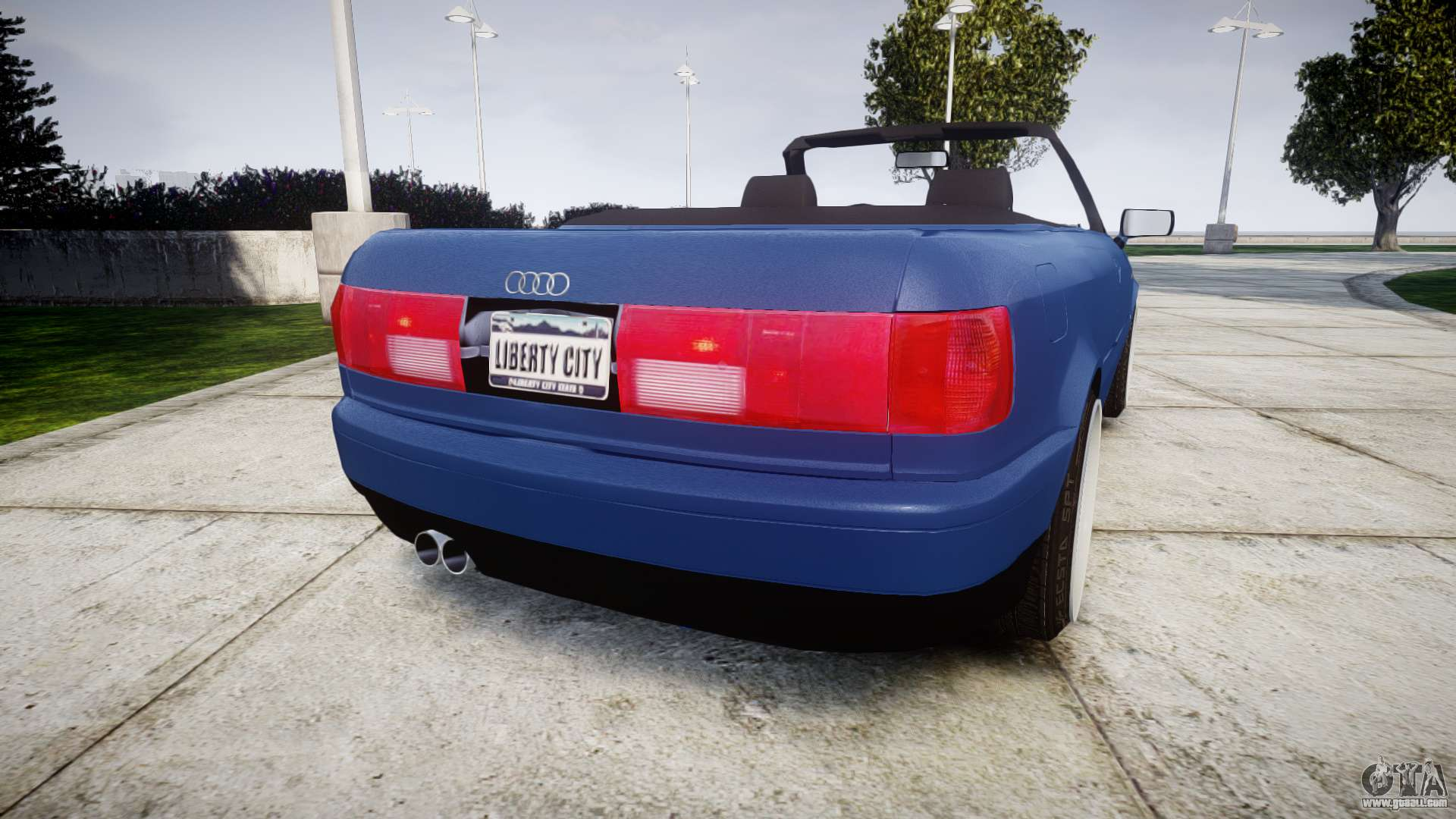 audi 80 cabrio us tail lights for gta 4. Black Bedroom Furniture Sets. Home Design Ideas