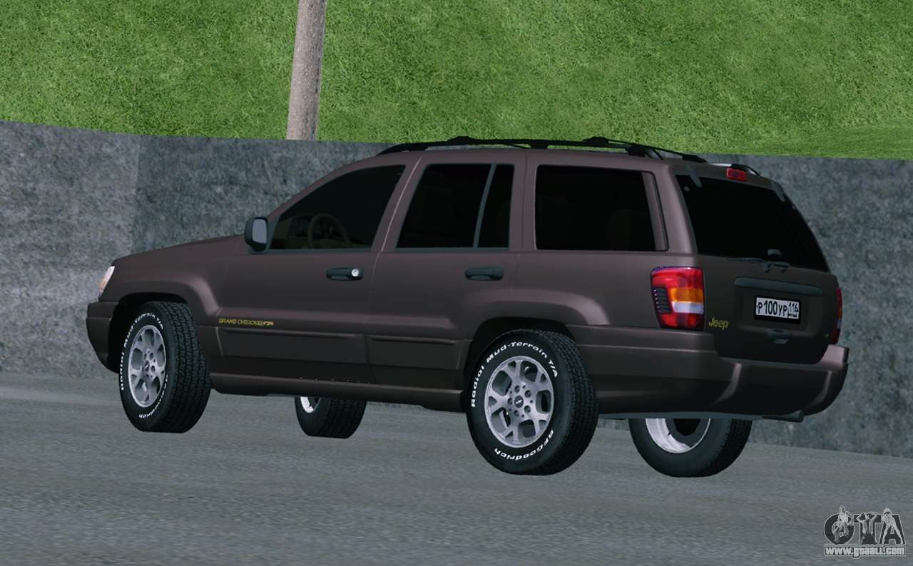 Jeep Grand Cherokee Wj For Gta San Andreas
