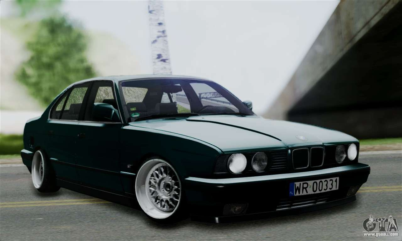 bmw 525 e34 rims for gta san andreas. Black Bedroom Furniture Sets. Home Design Ideas