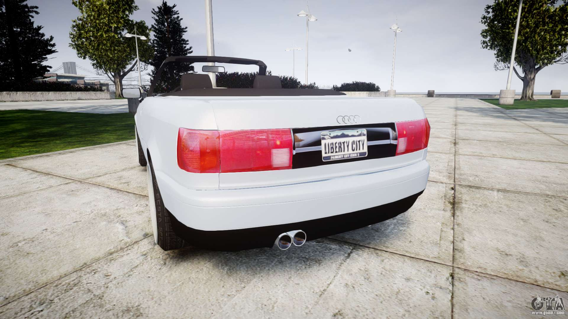 audi 80 cabrio euro tail lights for gta 4. Black Bedroom Furniture Sets. Home Design Ideas