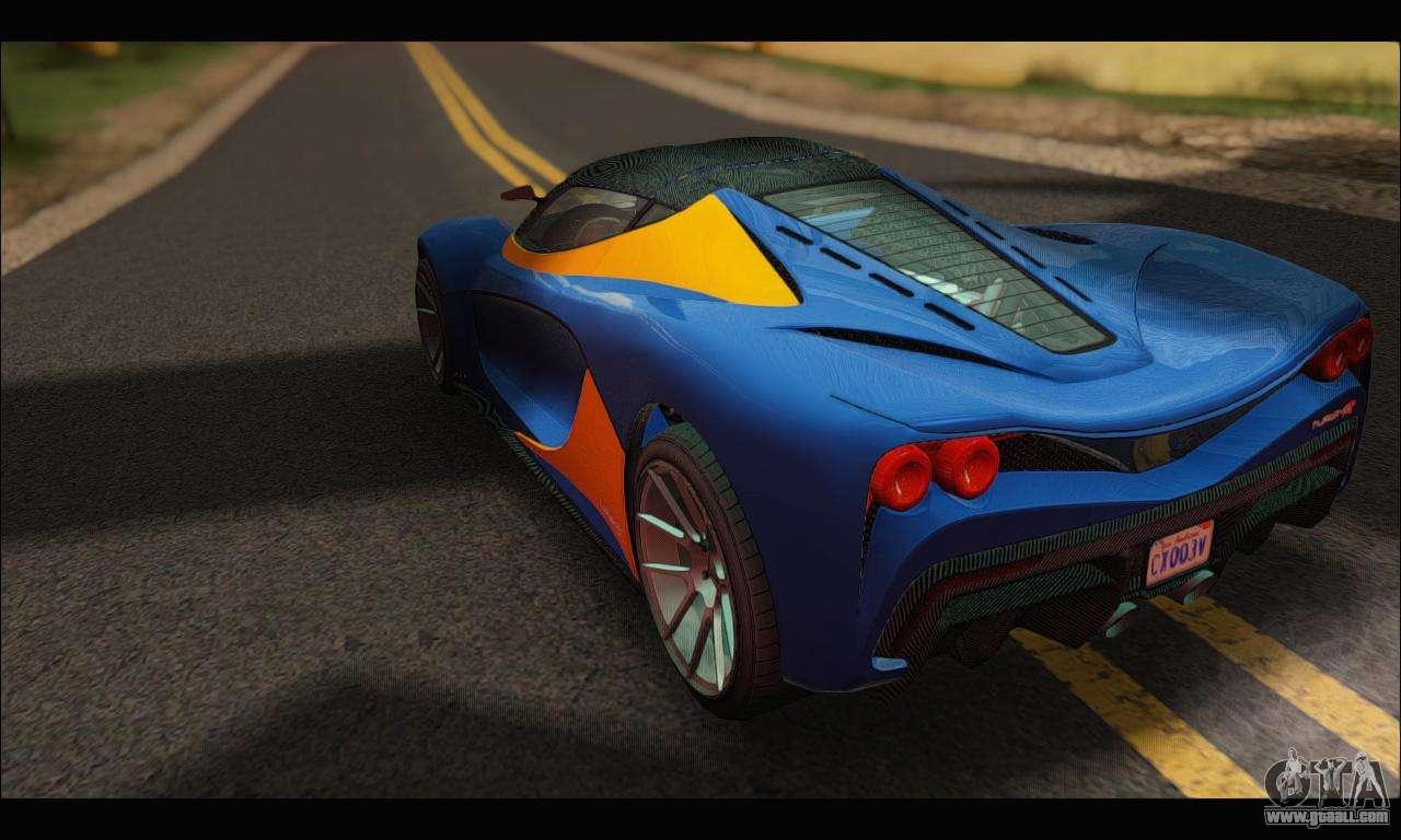 Grotti Turismo R v2 (GTA V) for GTA San Andreas