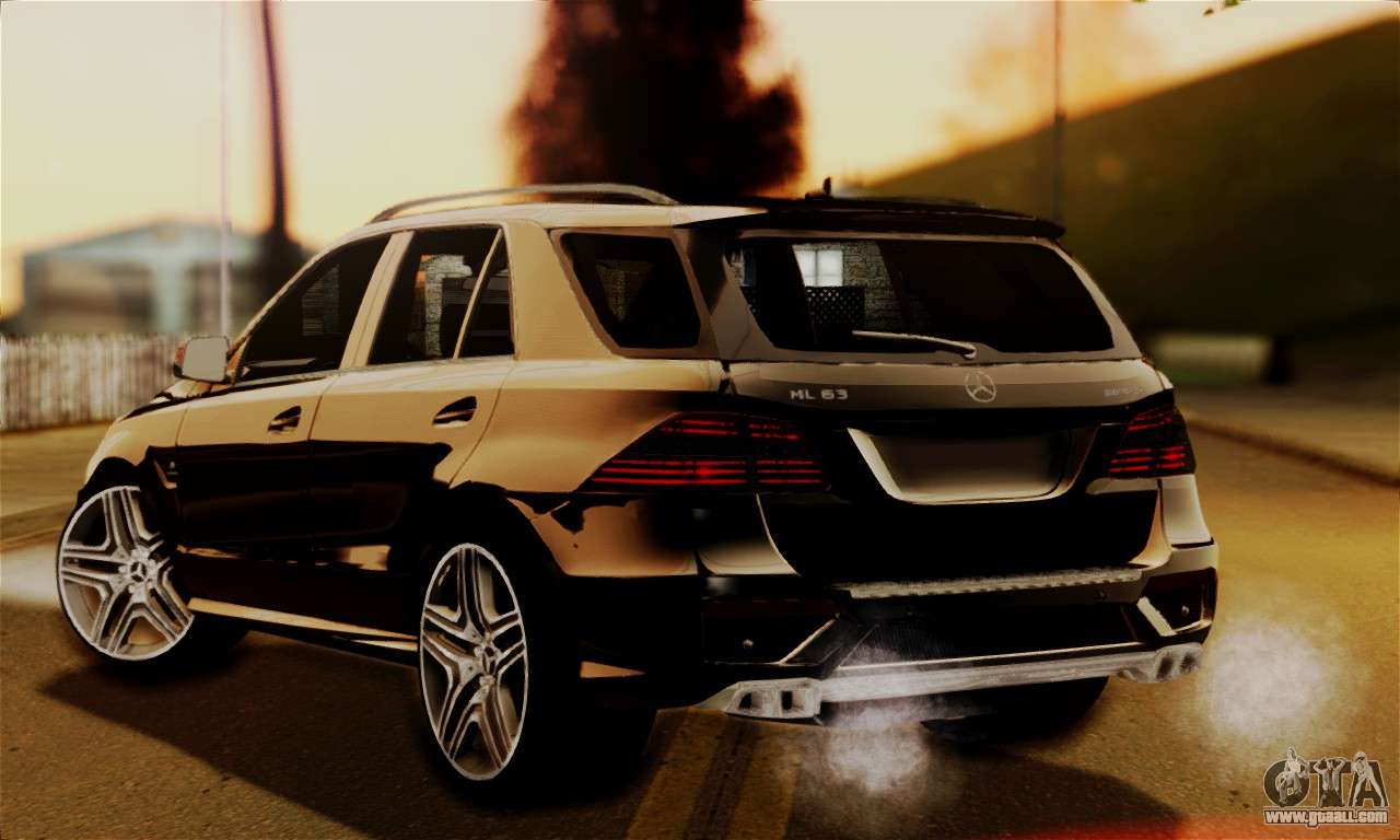 mercedes benz ml63 amg for gta san andreas. Black Bedroom Furniture Sets. Home Design Ideas