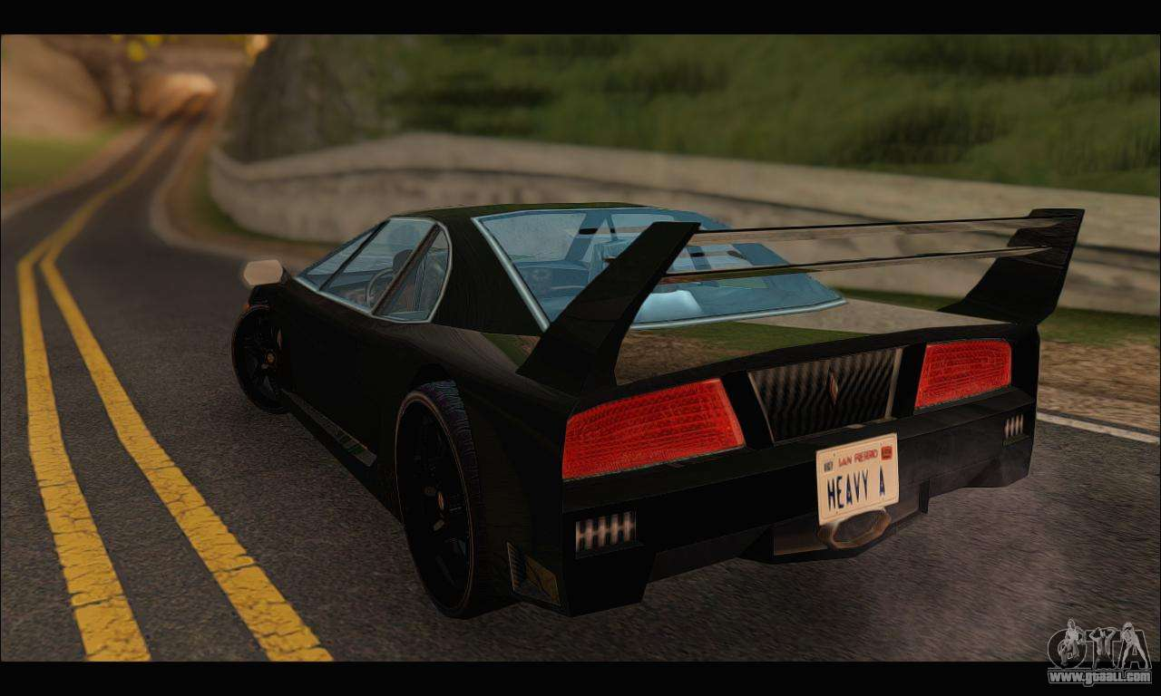 Turismo Limited Edition for GTA San Andreas