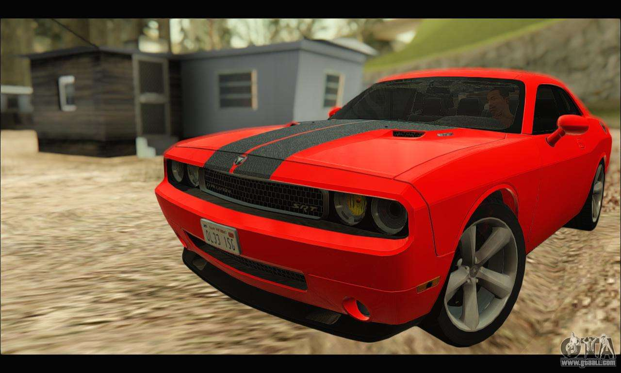 Dodge Challenger Interior >> Dodge Challenger SRT-8 2010 v2.0 for GTA San Andreas