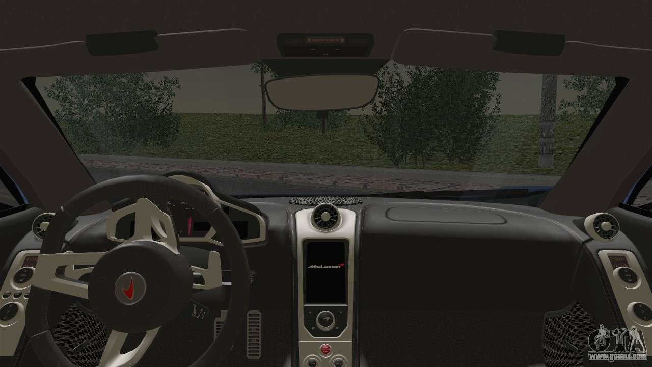 mclaren mp4 12c gawai v1 5 hq interior for gta san andreas