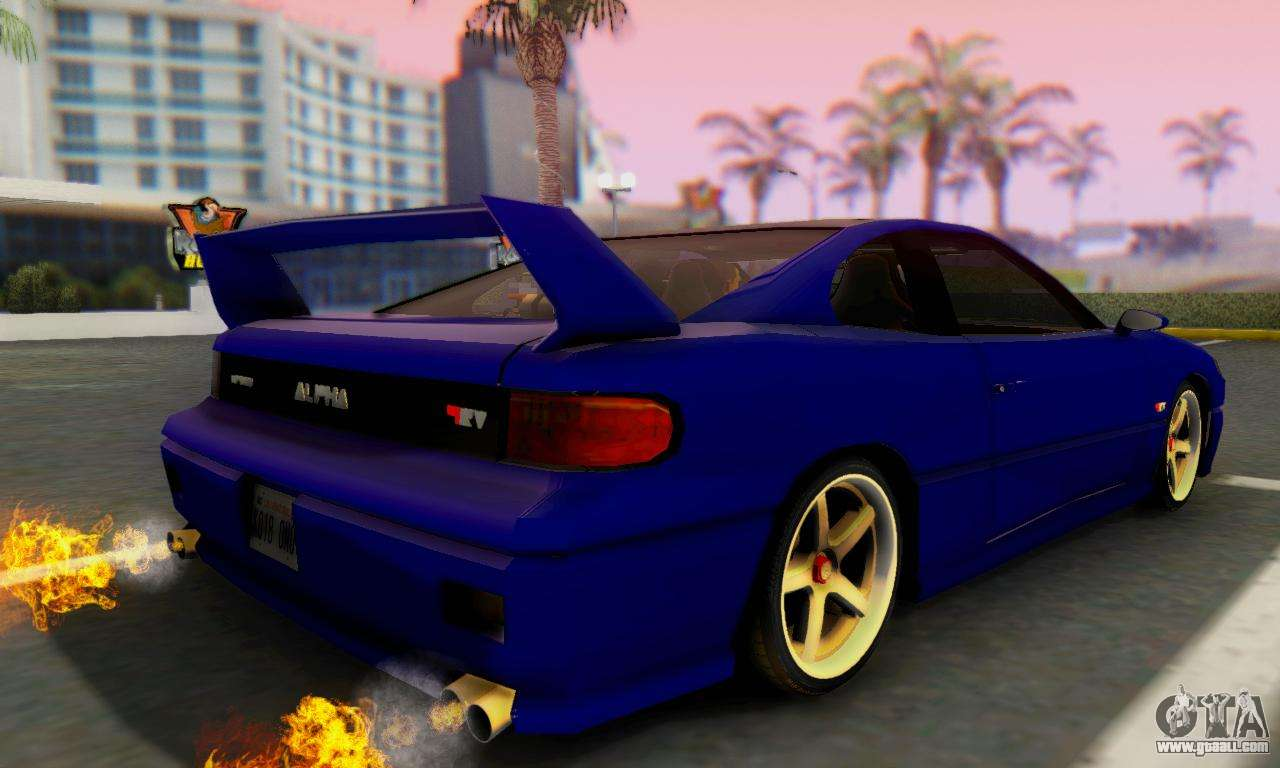 New Alpha for GTA San Andreas