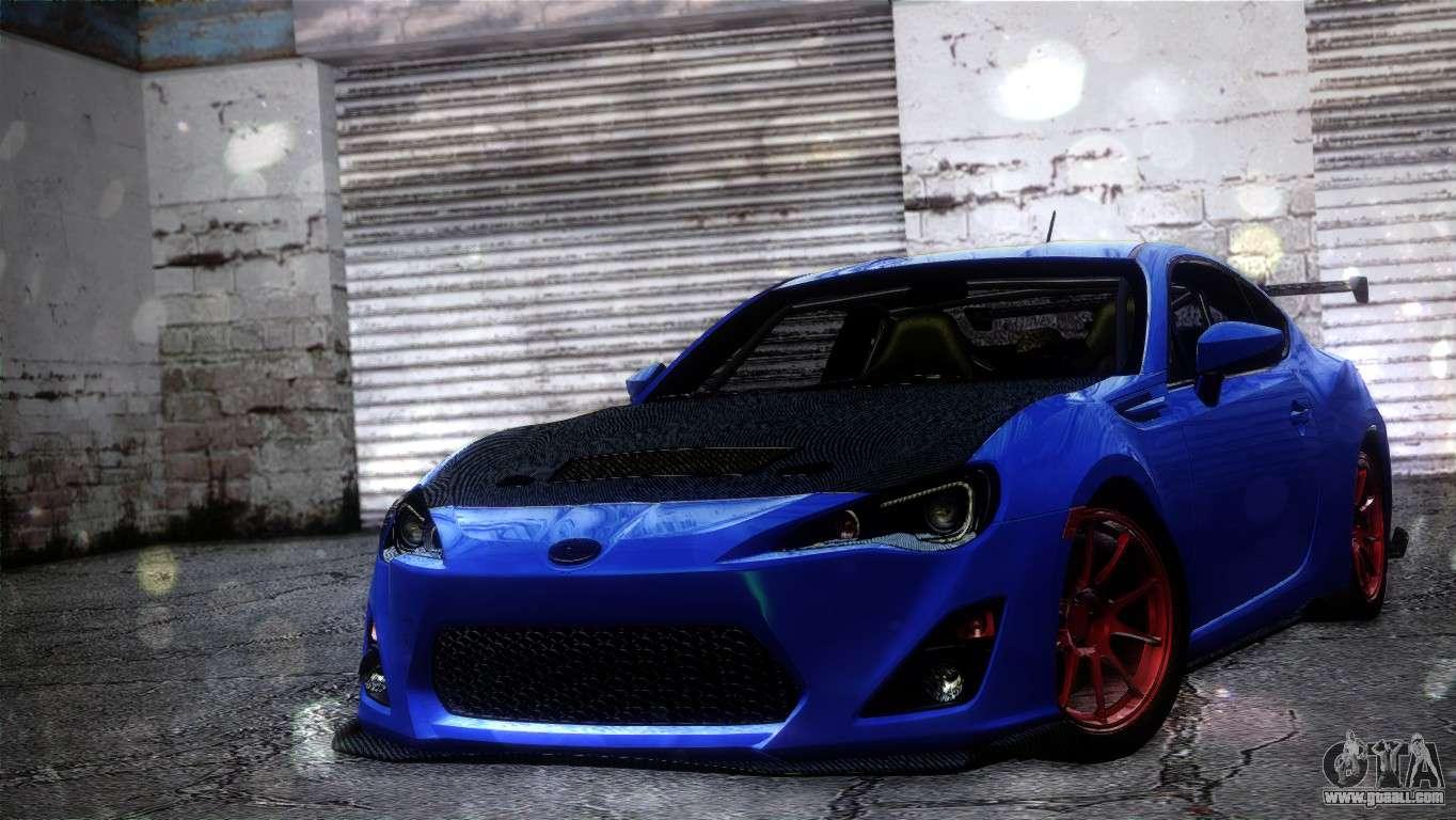Subaru Brz Drift Built For Gta San Andreas