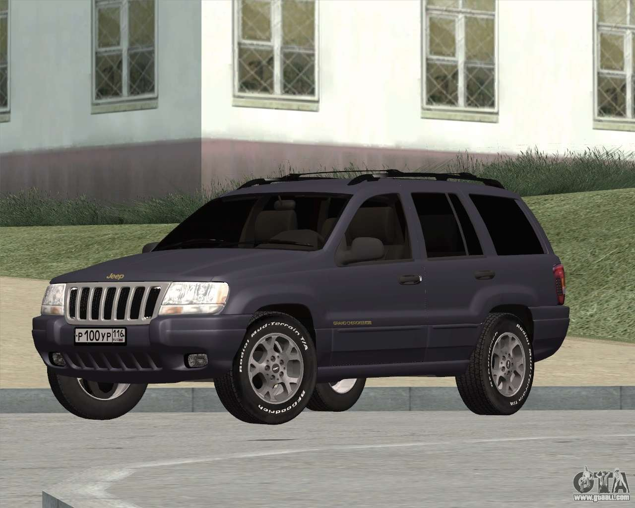 jeep grand cherokee wj for gta san andreas. Black Bedroom Furniture Sets. Home Design Ideas