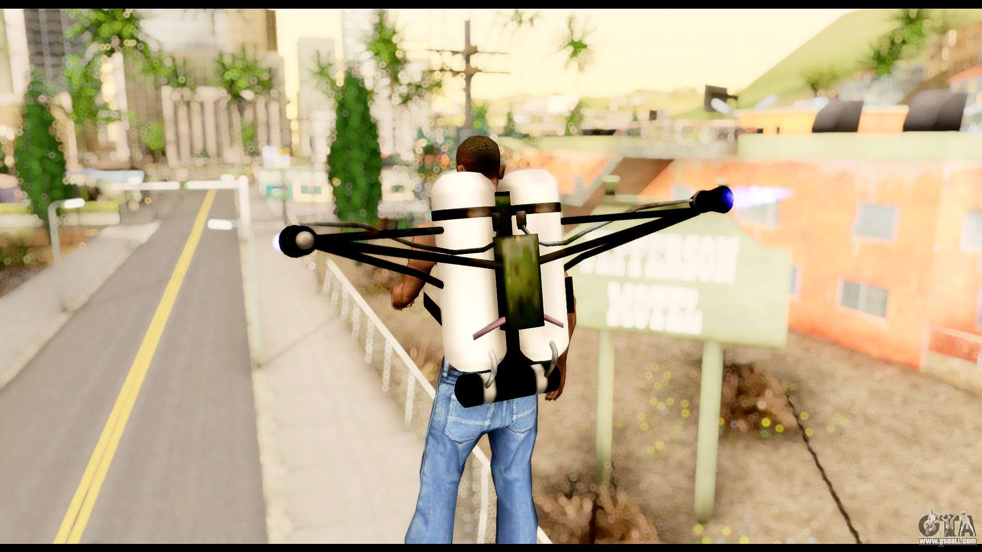 how to get the jetpack in san andreas