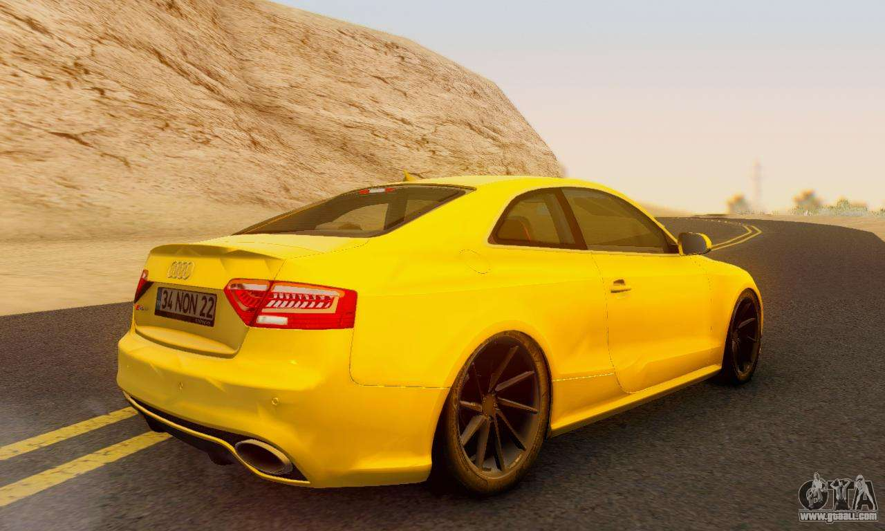 audi rs5 rc for gta san andreas. Black Bedroom Furniture Sets. Home Design Ideas