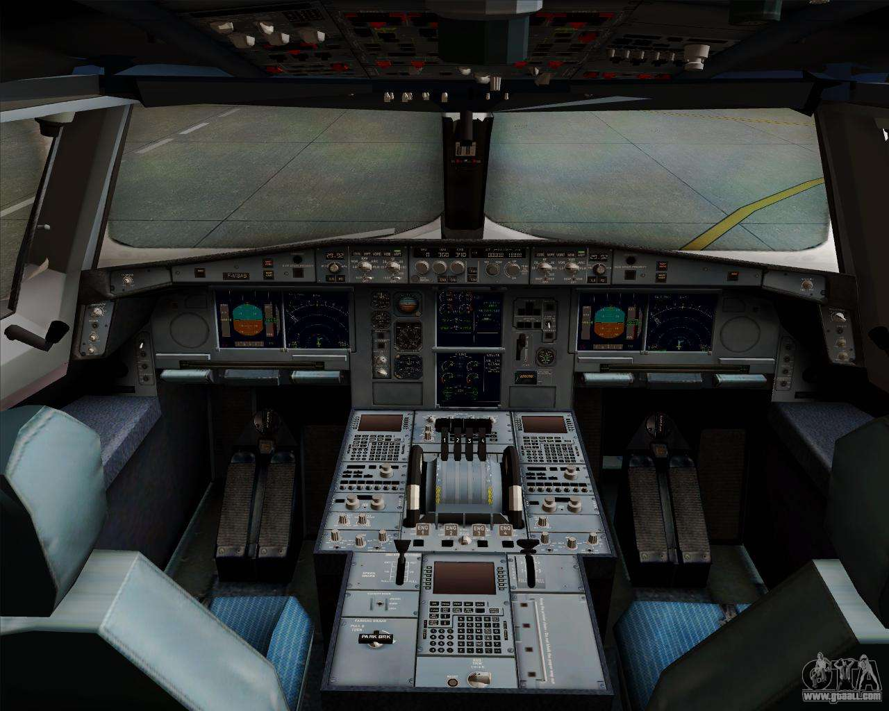 Airbus a380 800 philippine airlines for gta san andreas for Airbus a380 interior