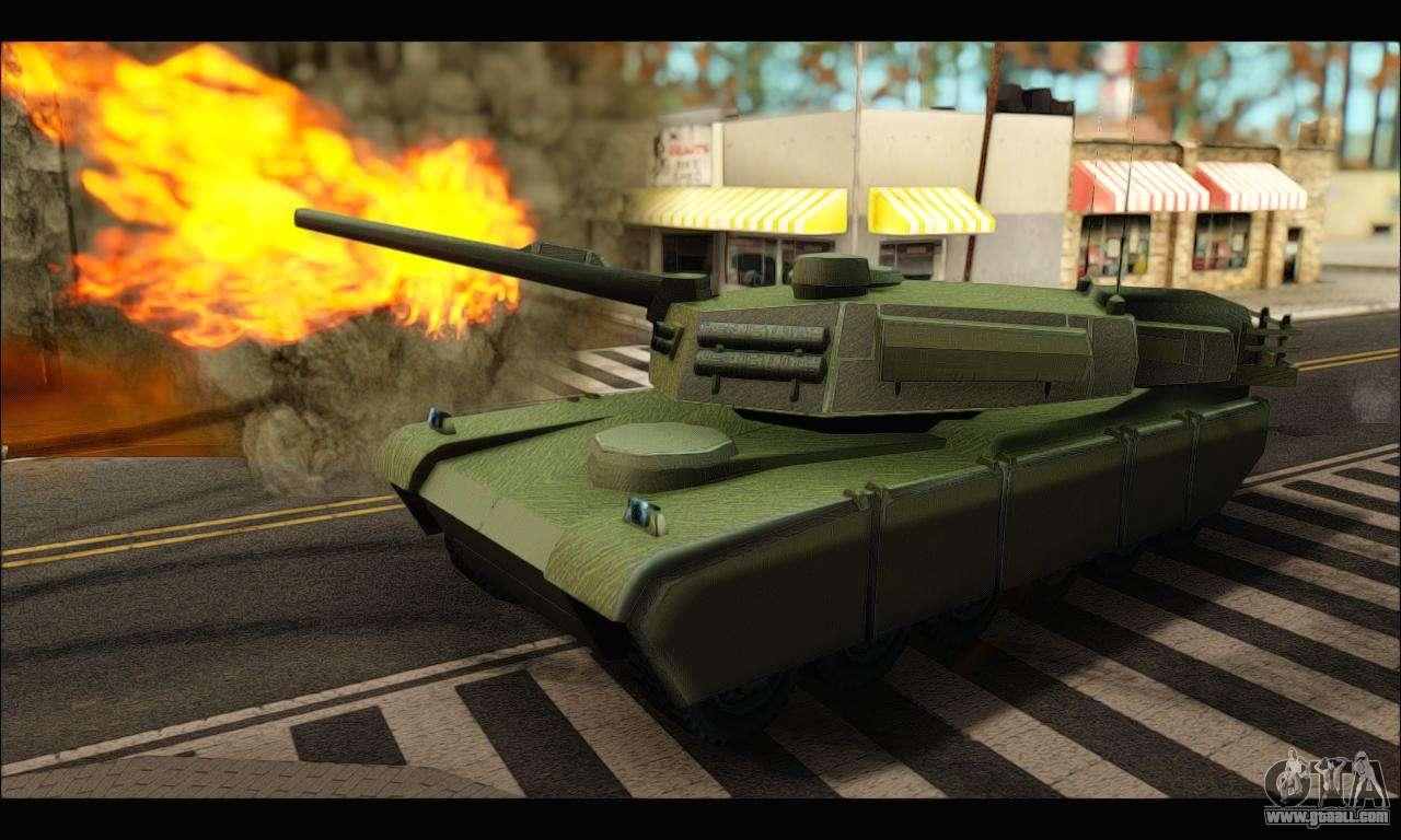gta v how to get tank