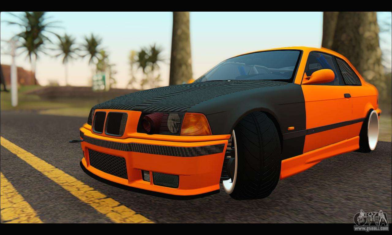 BMW e36 Drift for GTA San Andreas