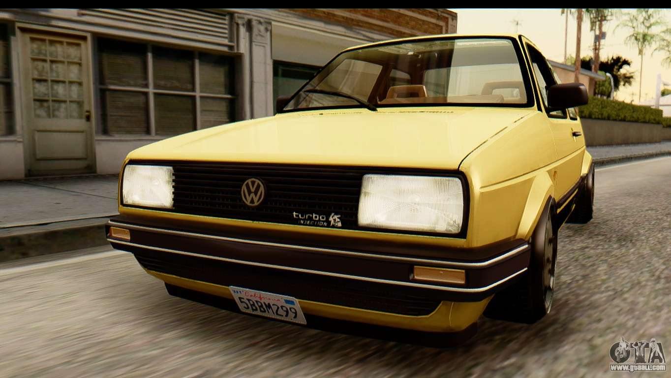 volkswagen jetta a2 coupe for gta san andreas. Black Bedroom Furniture Sets. Home Design Ideas