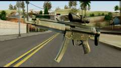 MP5 from Max Payne for GTA San Andreas