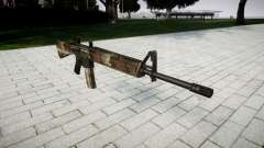 The M16A2 rifle erdl