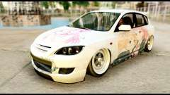 Mazda Speed 3 [Sakura Trick Itasha] for GTA San Andreas
