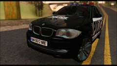 BMW 120i USA Police for GTA San Andreas