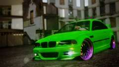 BMW M3 E46 MILKA for GTA San Andreas