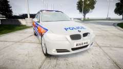 BMW 325d E91 2009 Metropolitan Police [ELS] for GTA 4