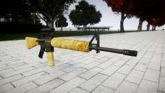 The M16A2 rifle [optical] gold