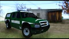 Chevrolet S-10 Gendarmeria for GTA San Andreas