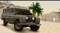 Land Rover Series IIa LWB Wagon 1962-1971 [IVF] for GTA San Andreas