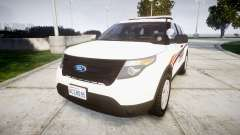 Ford Explorer 2013 Police Interceptor [ELS]