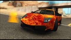 Lamborghini Murcielago In Flames for GTA San Andreas