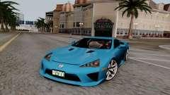 Lexus LF-A 2010 for GTA San Andreas