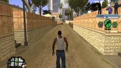 C-HUD FBI for GTA San Andreas