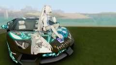 Itasha PJ from Lamborghini Aventador LP700-4