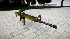 The M16A2 rifle [optical] olive