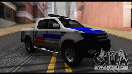 Ford Ranger P.B.A 2015 for GTA San Andreas