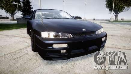 Nissan Silvia S14 Kouki Hellaflush for GTA 4