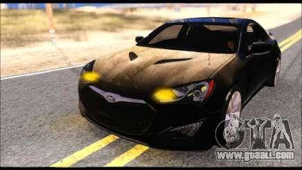 Hyundai Genesis Coupe 3.8 2013 for GTA San Andreas