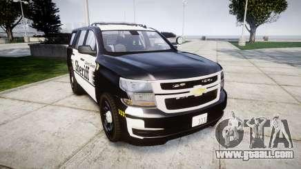 Chevrolet Tahoe 2015 County Sheriff [ELS] for GTA 4