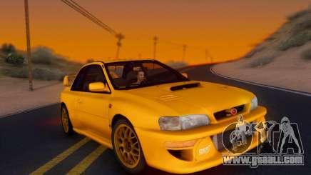 Subaru Impreza 22B STI (KATIL) for GTA San Andreas