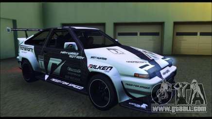 Toyota Corolla Trueno Team DMAC for GTA San Andreas